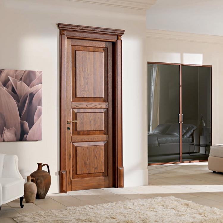 Porta in legno massiccio 110&Lode - Garofoli - Serramenti Torino
