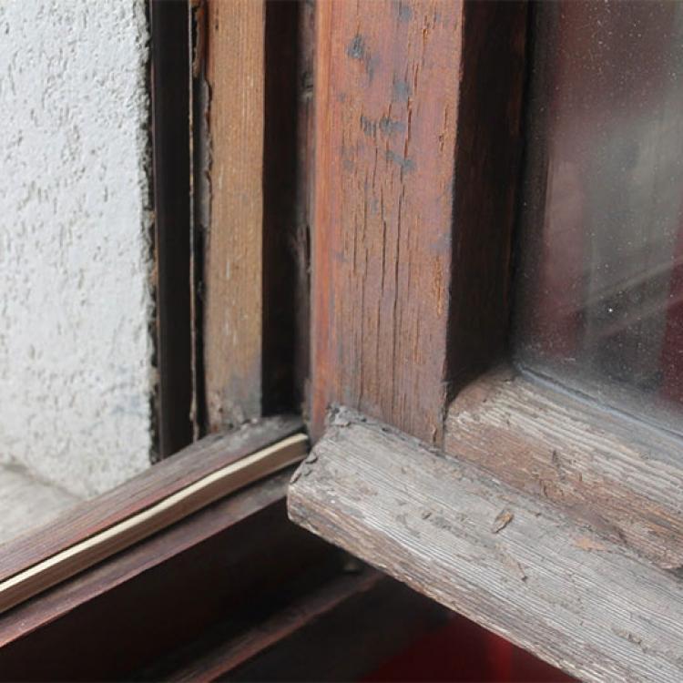 Un infisso datato non è più in grado di assicurare elevate prestazioni di isolamento termico e acustico - Serramenti Torino