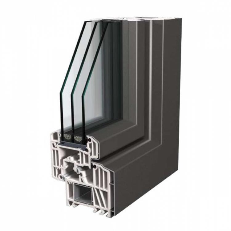 Finstral - KAB accoppiato alluminio/PVC - Serramenti Torino