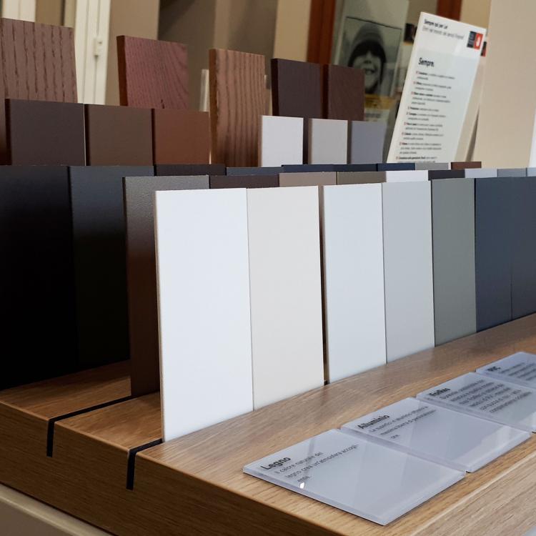 Planner Finstral - Colori, materiali e finiture - Serramenti Torino