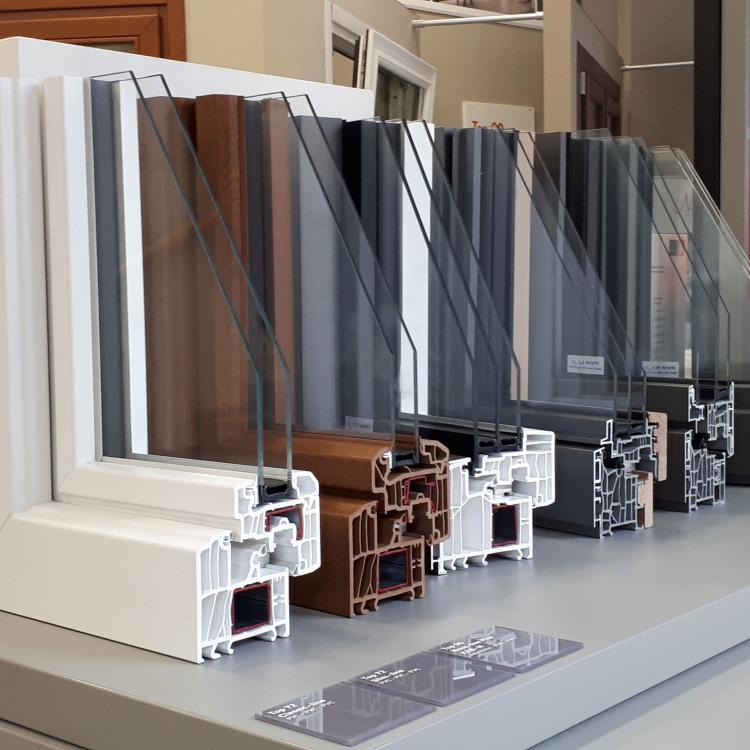 Planner Finstral - Sezione interna dei vari modelli - Serramenti Torino